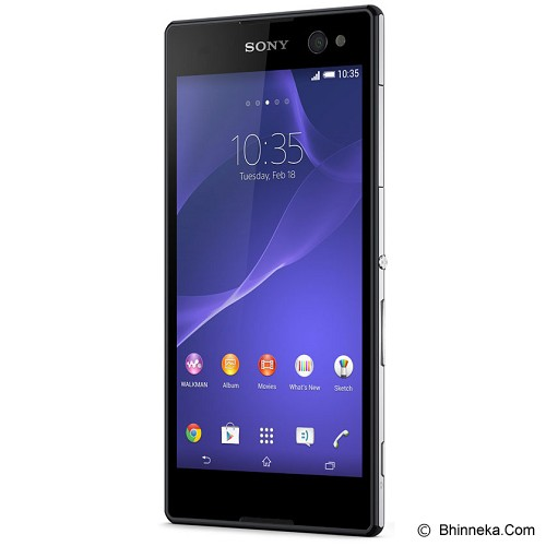 SONY Xperia C3 LTE Single [D2533] - Black - Smart Phone Android